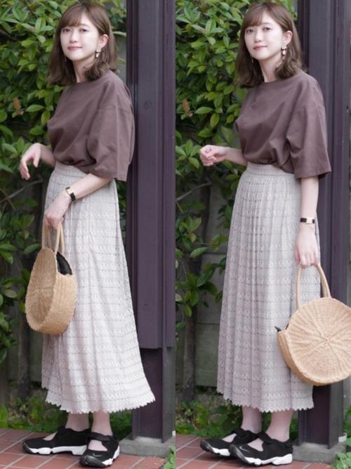 夏のプチプラファッション15
