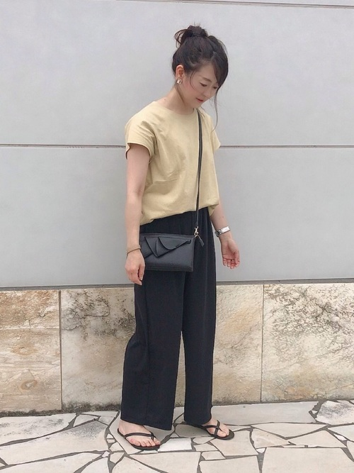 ユニクロ パンツ 大人女子3