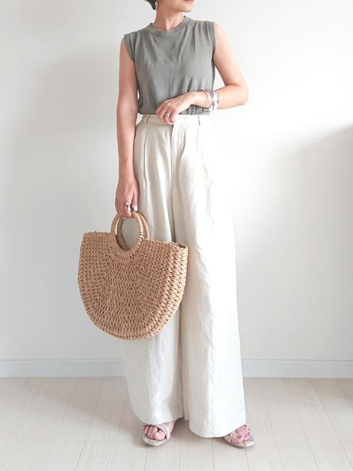 夏のプチプラファッション9