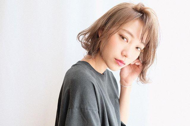 【2020秋トレンド前髪】斜めバング3