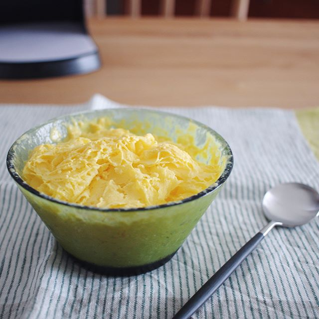 美味しいレシピ!マンゴーラッシーかき氷