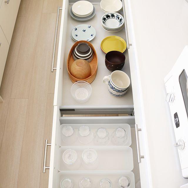 なるべく労力を消費しない食器の収納方法