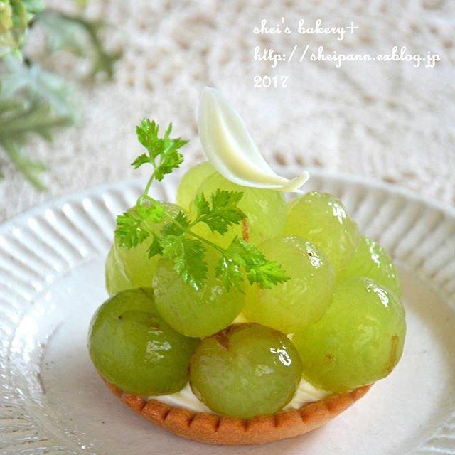 ぶどうの美味しいスイーツレシピ☆さっぱり7