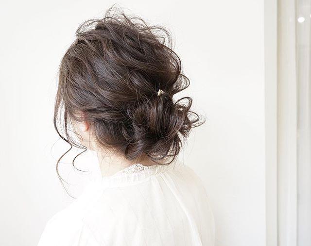 運動会のママの髪型《ボブアレンジ》3