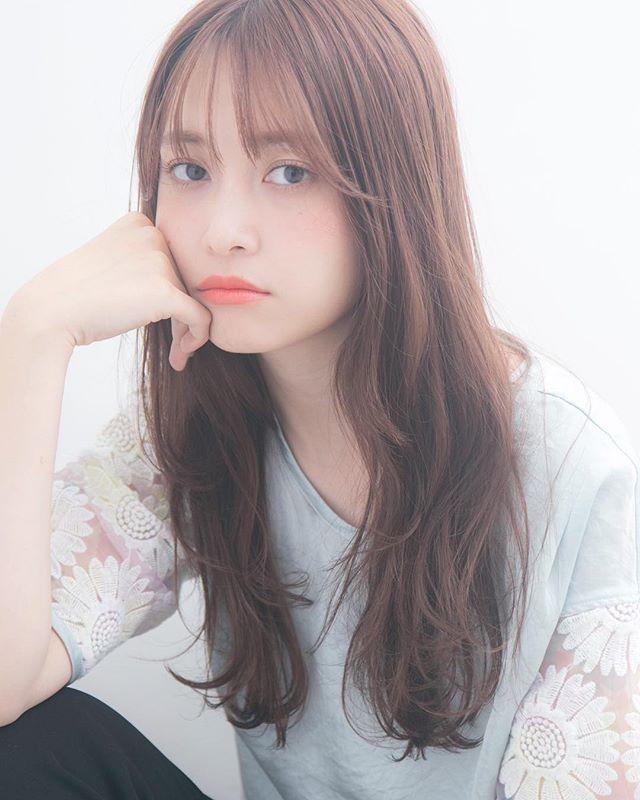 【2020秋トレンド前髪】シースルーバング