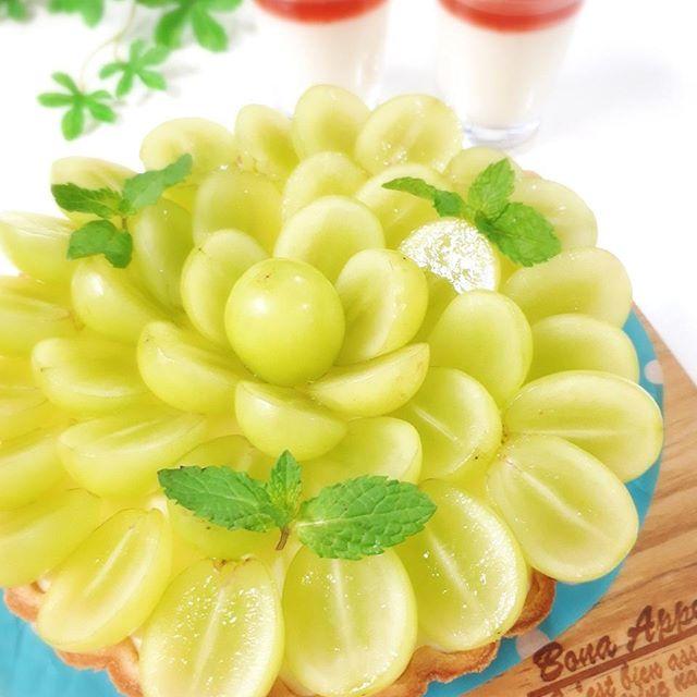 ぶどうの美味しいスイーツレシピ☆さっぱり9