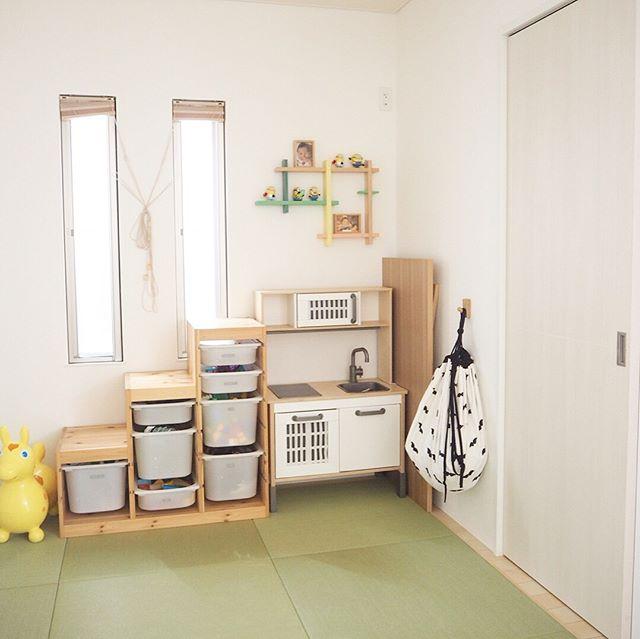 IKEA《トロファスト》を使った押入れ収納