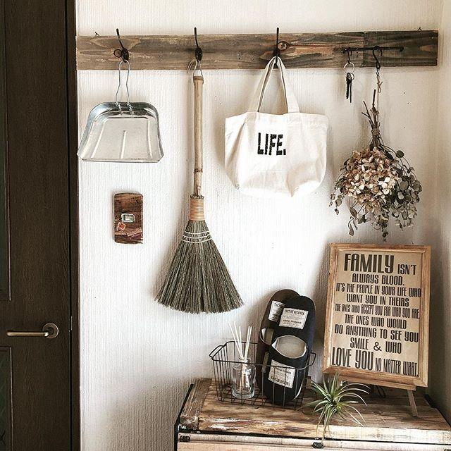 一人暮らしの収納アイデア《玄関周り》3