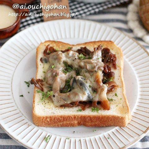 牛肉リメイクレシピ!洋食トースト