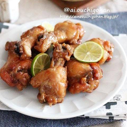 鶏肉のおすすめ料理!簡単手羽元マーマレード