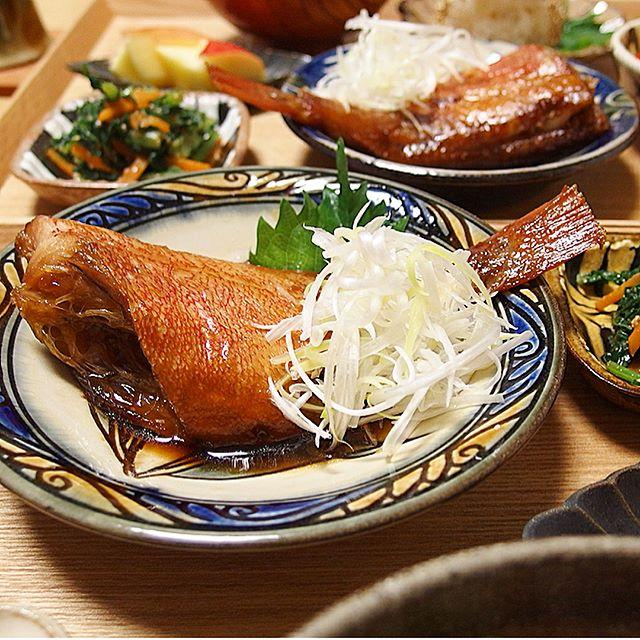 美味しいお弁当に!簡単な赤魚の煮付け