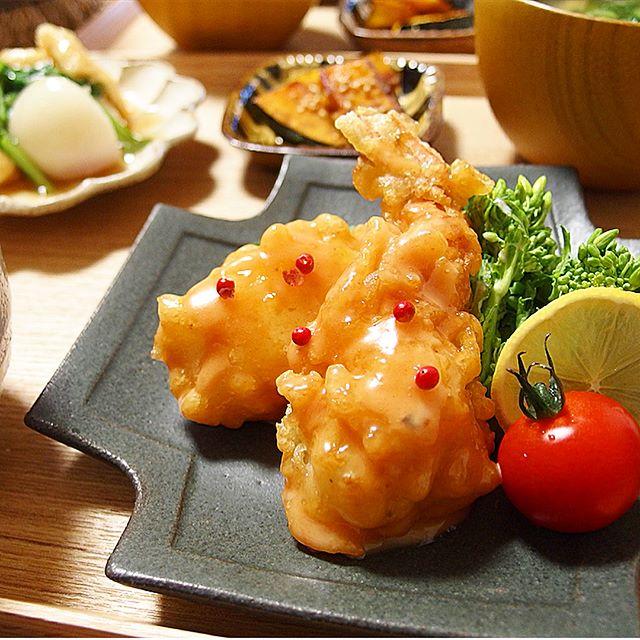 幼稚園のお弁当に簡単!美味しいBIG海老マヨ