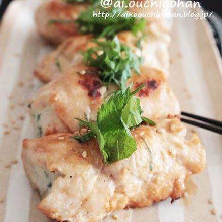 簡単な和食に!絶品茹で鶏肉の梅肉ポン酢5