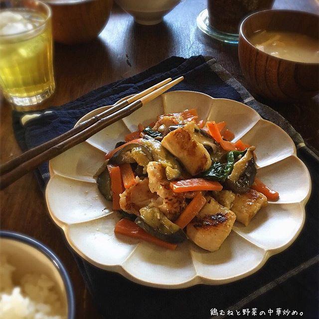 鶏肉を使った簡単な中華レシピ☆むね肉3