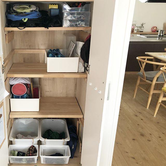 IKEA《トロファスト》を使った押入れ収納5