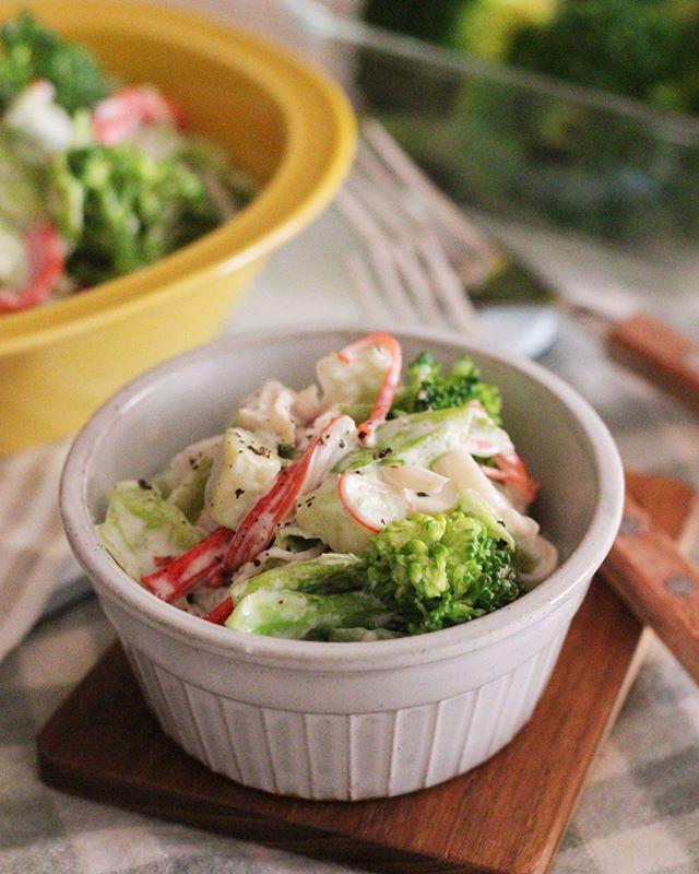簡単!ブロッコリーと蒸し鶏のデリ風サラダ
