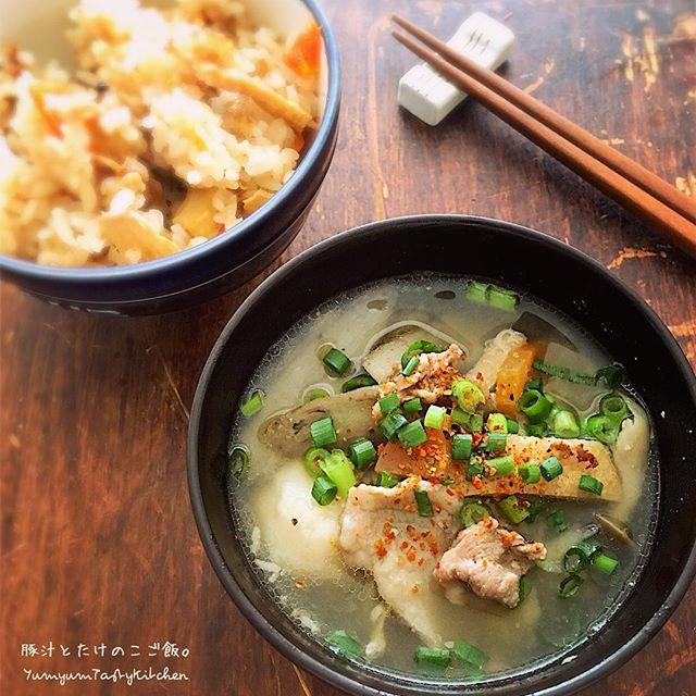 ごぼう料理☆人気の簡単レシピ《主食&汁物》4