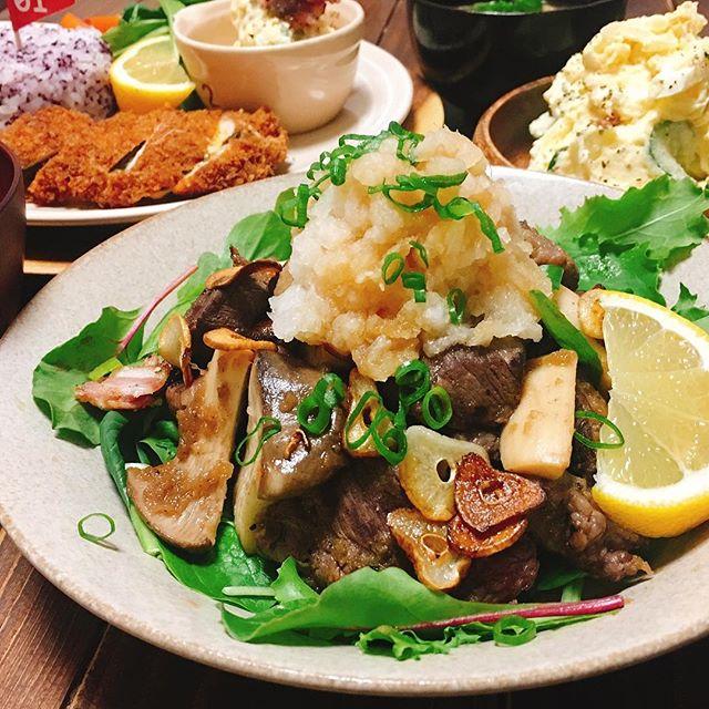 牛肉で人気の和食メニュー12