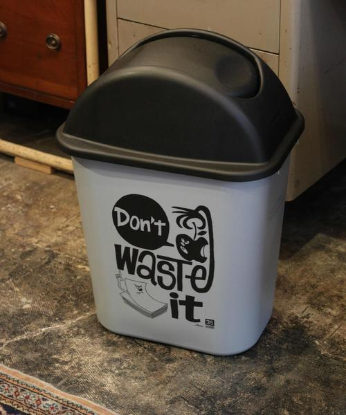 まるで雑貨のような愛らしいゴミ箱