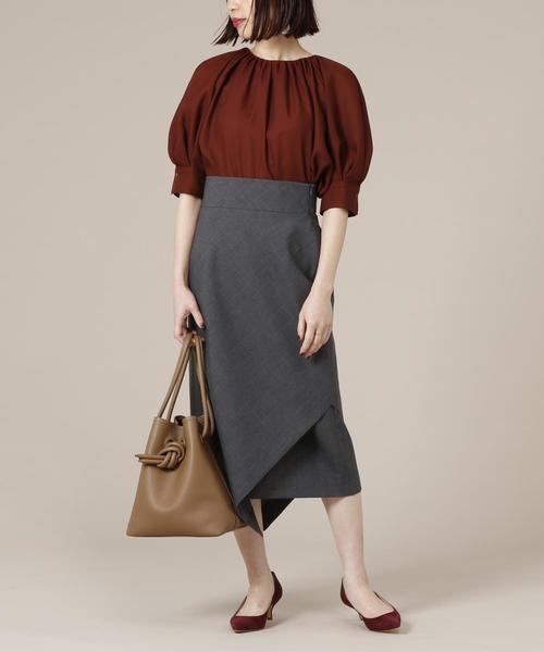 [martinique] martinique/ウールバイヤスタイトスカート