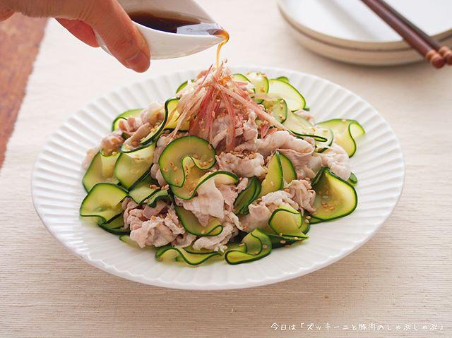 夏野菜で話題の人気レシピ☆ズッキー二2