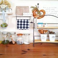 布巾の収納は「いつでも使いやすく」がコツ。賢い収納で機能的なキッチン