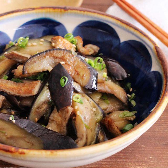 なすの中華風おすすめレシピ《炒め物》3