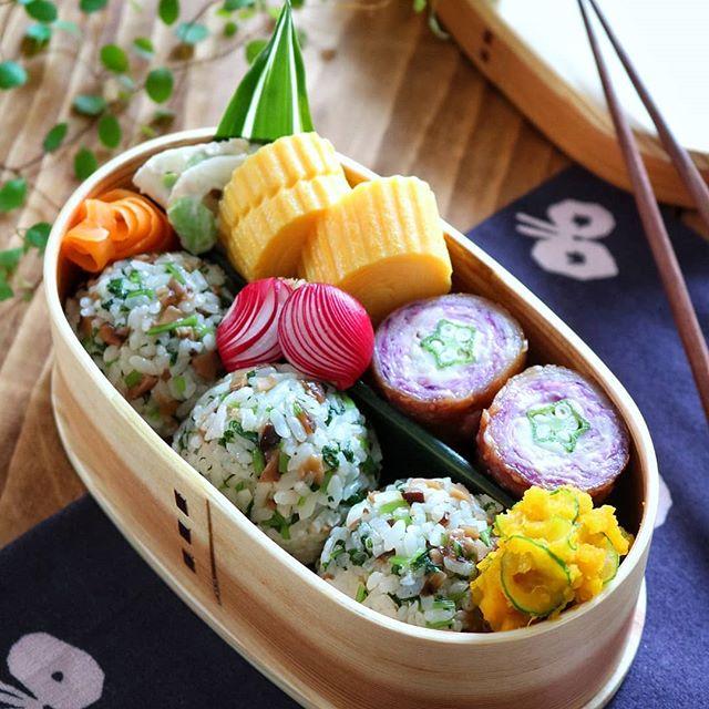 洋食レシピに!紫キャベツとオクラのチーズ肉巻き
