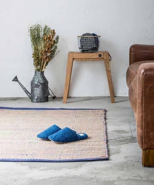[sarasa design store] b2c シーグラス&ジュート ラグ|145×93cm