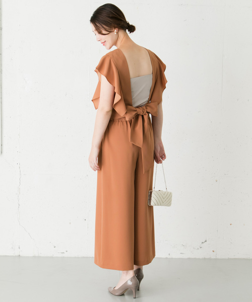 [URBAN RESEARCH ROSSO WOMEN] kaene バックリボンセットアップ