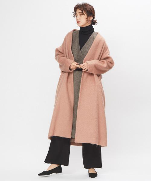 [collex] モヘヤシャギーコート