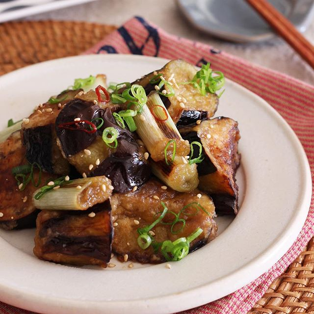 夏野菜で話題の人気レシピ☆なす