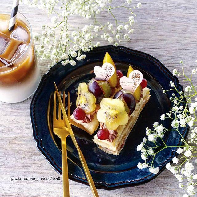 ぶどうの美味しいスイーツレシピ☆濃厚6