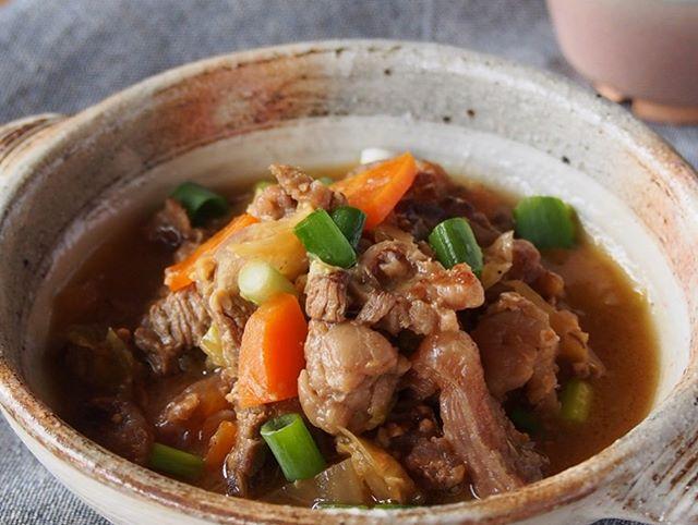 和食のおつまみはこれ!簡単牛スジの塩煮こみ