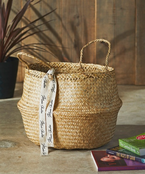 [JACK & MARIE] Marie Miller SEAGRASS BASKET シーグラスバスケット L
