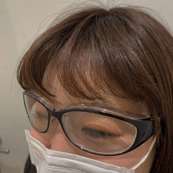 ウイルスをメガネでガード