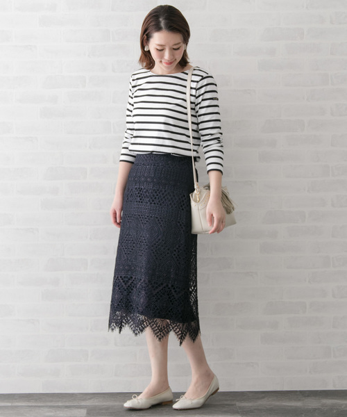 [URBAN RESEARCH ROSSO WOMEN] レーススカート