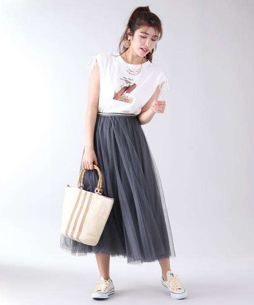 スカートスタイルのお手本コーデ