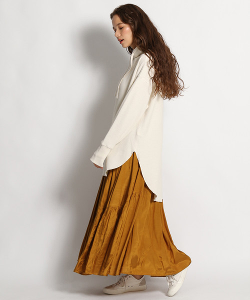[niko and...] インドシャンタンパネルロングスカート