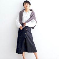 秋の黒タイトスカートコーデ【2020】引き締めカラーのスタイルUPファッション♪