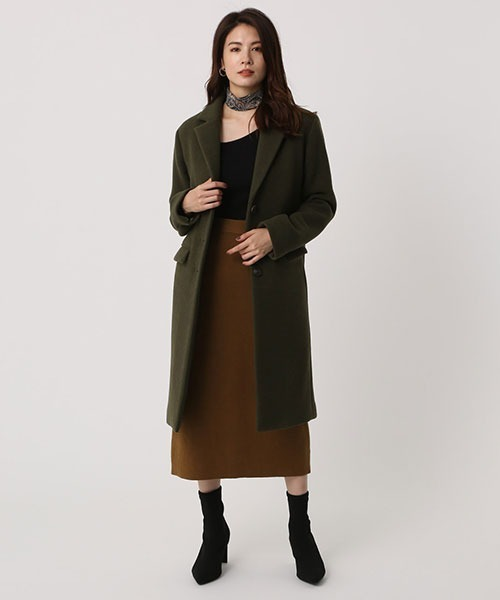 [AZUL BY MOUSSY] CHESTR COAT/チェスターコート