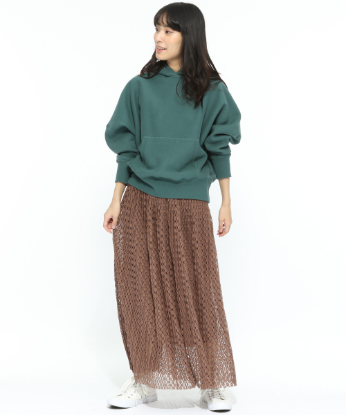 [LAKOLE] レースプリーツスカート / LAKOLE