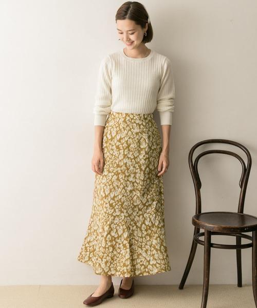 [URBAN RESEARCH] レオパードプリントスカート