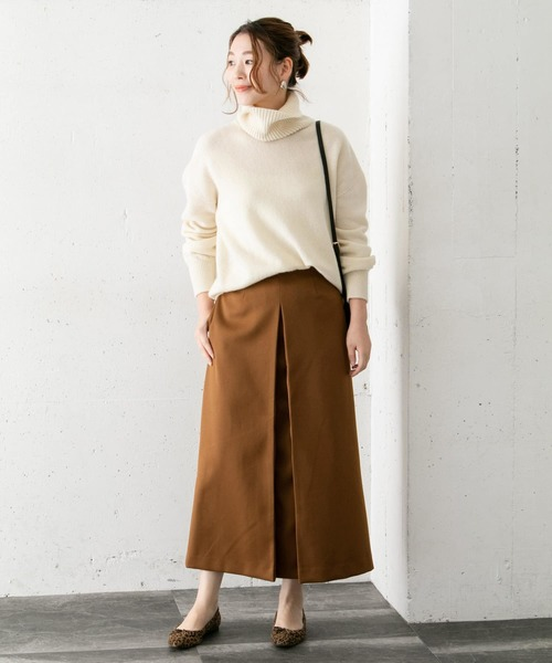 [URBAN RESEARCH ROSSO WOMEN] フロントタックロングスカート