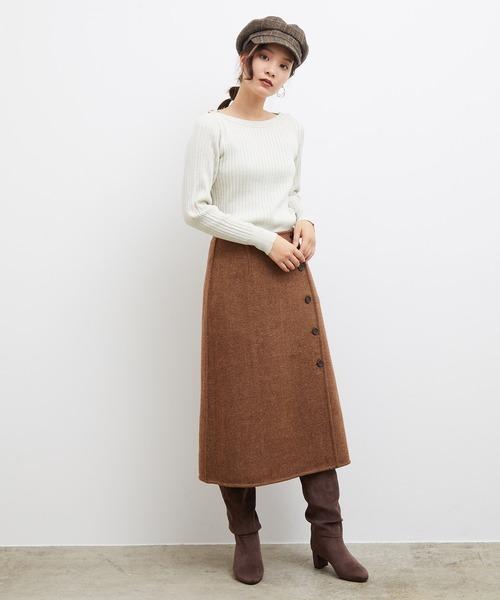 [ROPE' PICNIC] ビッグチェックリバーシブルスカート