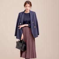 ブラウンのスカートコーデ【2020】秋に欠かせない色味をファッションの味方に♪
