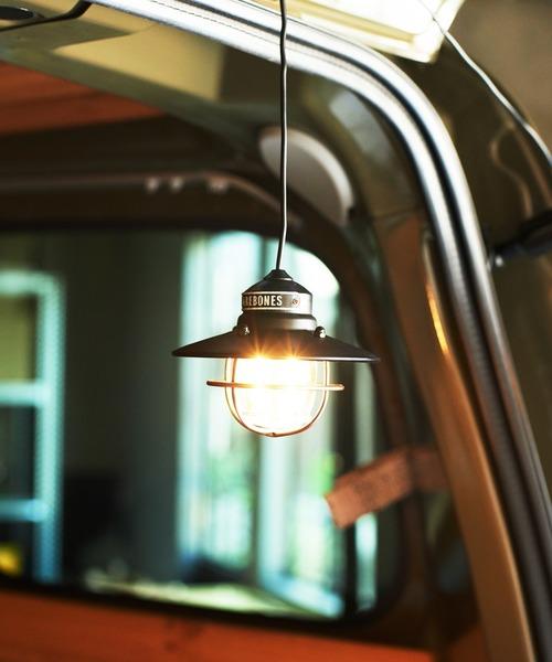 [JACK & MARIE] BarebonesLiving Edison Pendant Light (ベアボーンズリビング エジソン ペンダントライトLED)(BRONZE)(USBライト)
