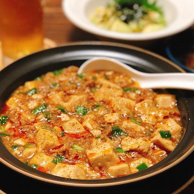 夏に人気!豚ひき肉のピリ辛麻婆豆腐