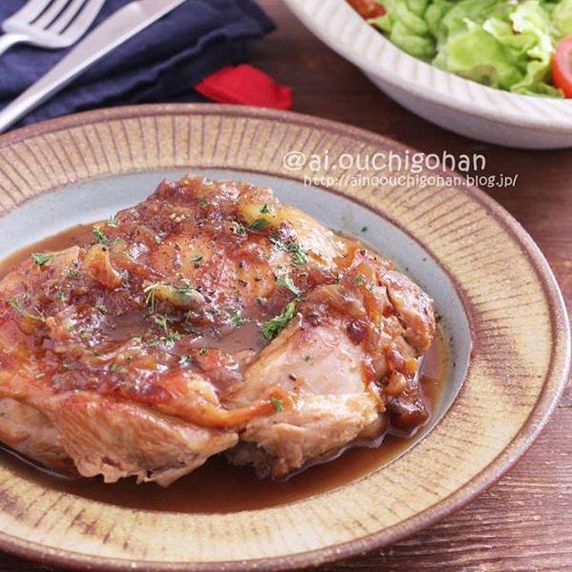 鶏肉を使った美味しい洋食!チキンステーキ