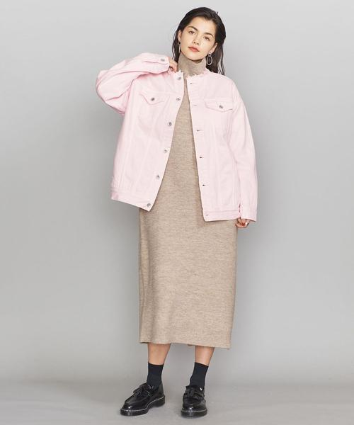 [BEAUTY&YOUTH UNITED ARROWS] <SUPP.NO ONE ELSE>カットオフデニムジャケット